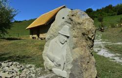 Šesttonski kip napovedal Forma Vivo Makole