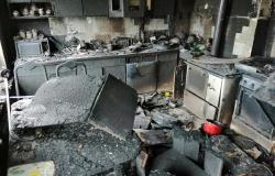 V Galiciji pogorela stanovanjska hiša