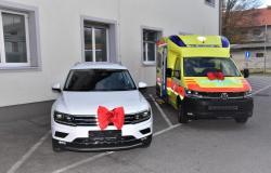 Slovenjebistriški zdravstveni dom z novima voziloma