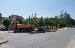 Središče Dobrne postaja gradbišče