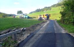 V občini Dobje 1600 metrov novih cest