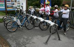 42 koles za Podčetrtek in Rogaško