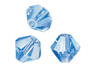 Brušene steklene perle Swarovski