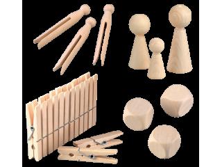 Kljukice, figurice, kocke