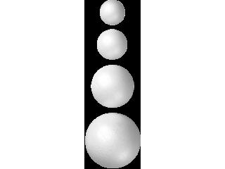 Krogle iz stiropora