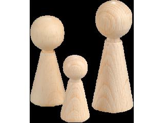 Lesene figurice