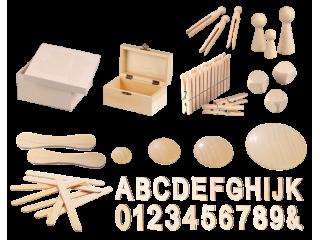 Materiali in izdelki iz lesa