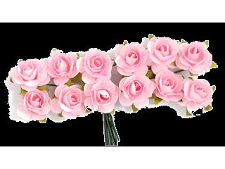 Rožice iz papirja na žici