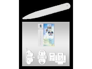 Šablone in pripomočki za zgibanje papirja