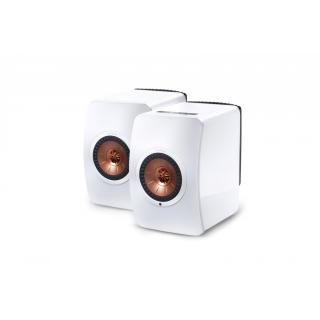 KEF LS50 Wireless bela - Aktivni zvočniki