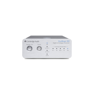 Cambridge Audio Dac Magic 100 Digitalno analogni pretvornik SREBRNA