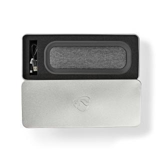 Nedis Bluetooth® zvočnik črna/antracit