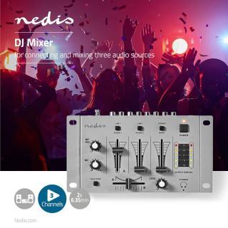 Nedis DJ mešalnik - Za dom