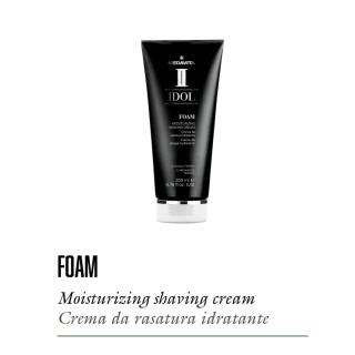 krema za britje MED Foam - Moisturizing - Profesionalna nega las