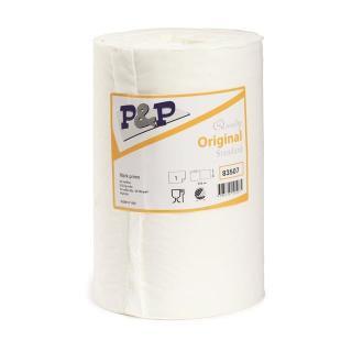 brisače P&P papirnate - bele barve - Rokavice & čistila
