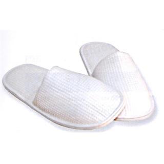 obutev - zaprti - frotir, bele barve - Rokavice & čistila
