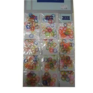 gumice LIS mini - multicolor - Frizerski pripomočki