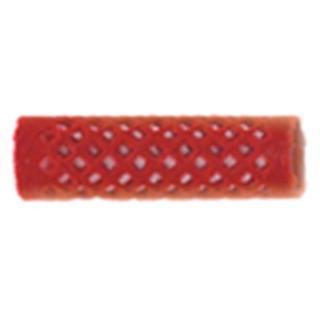navijalke žametne SIB 18mm, rdeče - Navijalke za lase