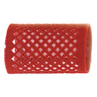 navijalke žametne SIB 40mm, rdeče - Navijalke za lase