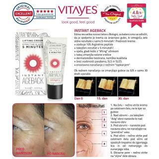 krema VIT Instant AgeBack (-25%) - Ostalo za oči, obrvi & trepalnice