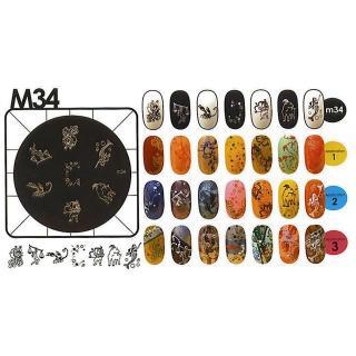 Kon. šablona - M34 - Kozmetični outlet
