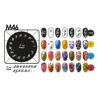 Kon. šablona - M46 - Kozmetični outlet