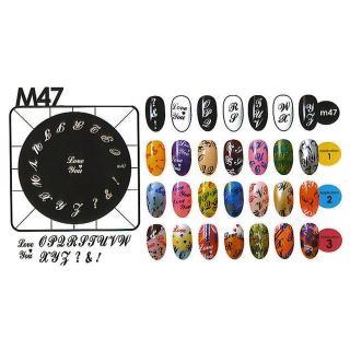 Kon. šablona - M47 - Kozmetični outlet