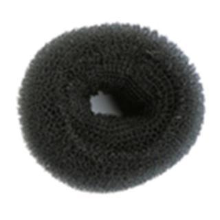 dodatek SIB črn, premer 8 cm - Lasni dodatki in nakit