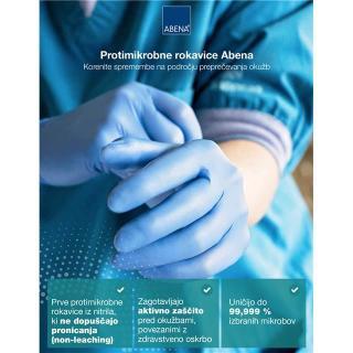 rokavice ABE protimikrobne - 7,5 (L) - Rokavice & čistila