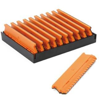 britvice WIT Click-n-Cut - oranžne - Škarje & britve