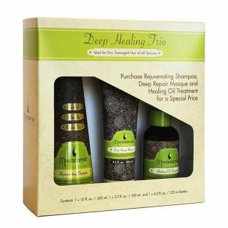 set MAC Deep Healing Oil Trio (-20%) - Profesionalna nega las