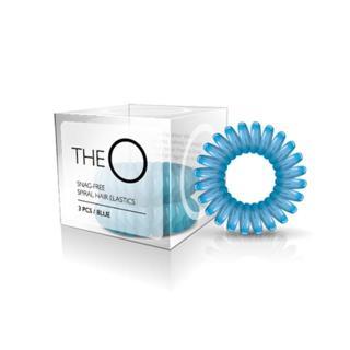 gumice TheO - špiralna, modra - Frizerski pripomočki