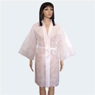 kimono BET enkratna uporaba - bele barve - Pripomočki za nego