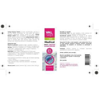 sprej VAL ValSept VS003, razkužilo - Dezinfekcija & prva pomoč