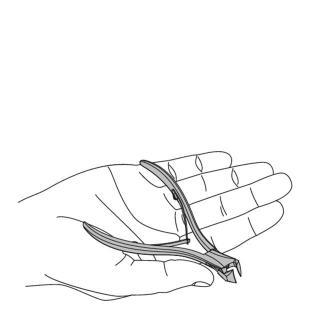 Ruck klešče - čelne - 14 cm (kompakt) - Klešče za kozmetike