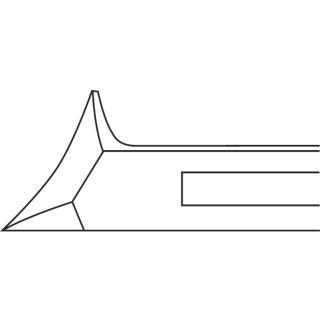 Ruck klešče - čelne - 14 cm - Klešče za kozmetike
