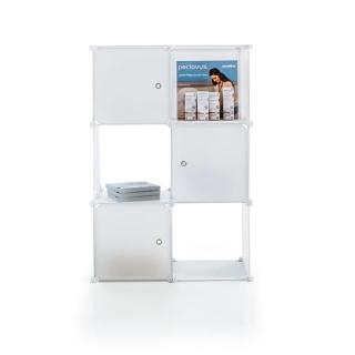 Ruck Cube - sestavne kocke kot pohištvo - Oprema za kozmetične salone