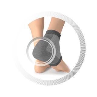 Ruck nogavica za pete - srebrno siva - Zmanjševanje pritiska na nogah