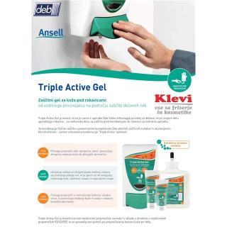 gel STO Triple Active Gel - 1L - Rokavice & čistila