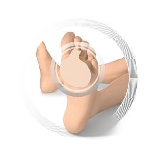 Ruck blazinica za prednji del stopala-1 - Zmanjševanje pritiska na nogah