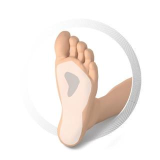 Ruck podpora za sploščeno stopalo - 4 - Zmanjševanje pritiska na nogah