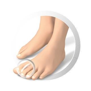 Ruck razdelilec prstov - XL - Zmanjševanje pritiska na nogah
