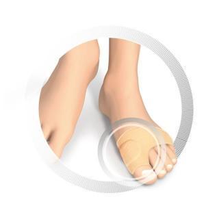 Ruck zaščita za kost palca - velika - Zmanjševanje pritiska na nogah
