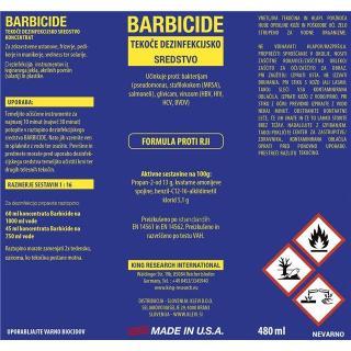 Barbicide dezinfekcijska tekočina- 480ml - Dezinfekcija & prva pomoč