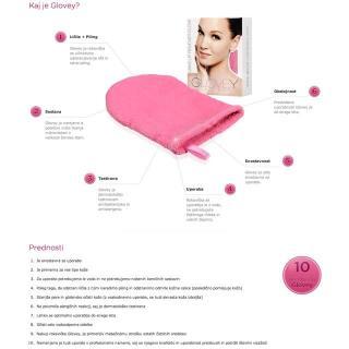 rokavica Glovey make up - Ostalo za oči, obrvi & trepalnice