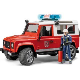 Igrača vozilo Land Rover z gasilcem  - Notranje igrače