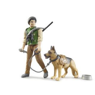 Igrača figura lovec in pes - Figure in tematski dodatki