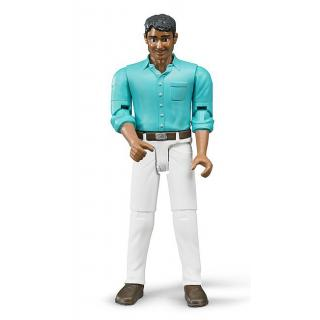 Igrača figura moški z belimi hlačami - Figure in tematski dodatki