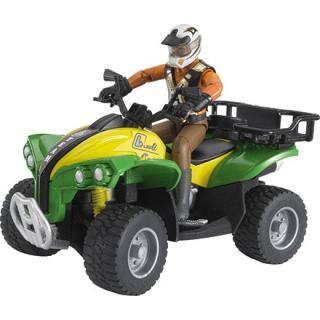 Igrača štirikolesnik z voznikom - Notranje igrače