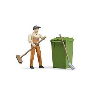 Igrača figura pobiralec smeti - Figure in tematski dodatki